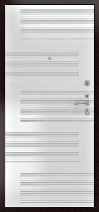 Люксор ФЛ-185 Ясень белый ПВХ 16 мм